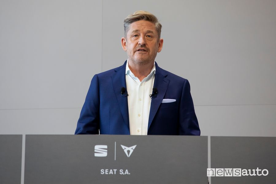 Wayne Griffiths, Presidente di Seat S.A.