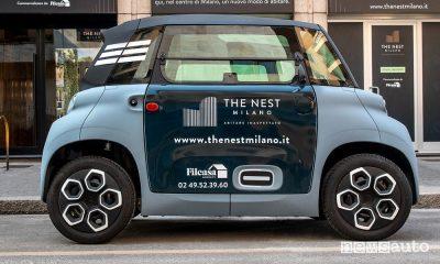 Car-sharing condominiale a Milano con Citroën Ami