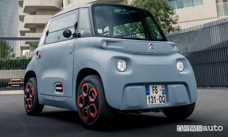 Citroën Ami, prezzi, versioni e allestimenti della macchinetta elettrica