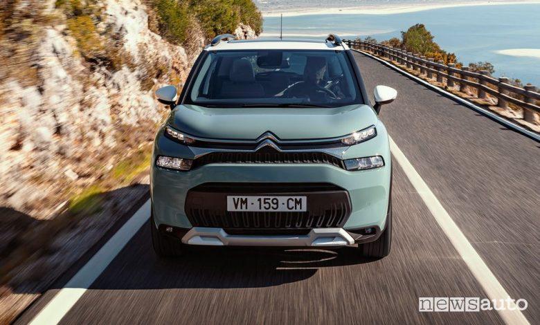 Nuovo Citroën C3 Aircross, prezzi gamma e allestimenti