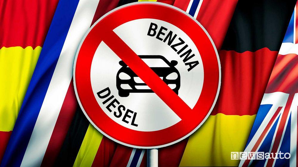 Stop motori diesel e benzina dalla UE dal 2035