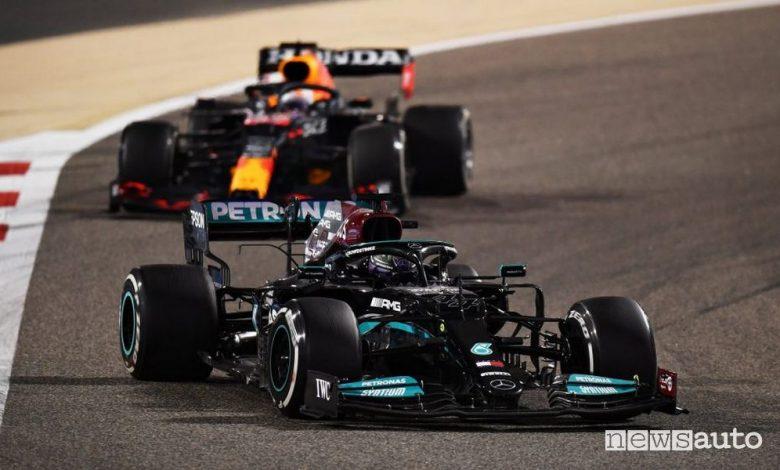 F1 Gp Bahrain, vittoria per Hamilton e la Mercedes