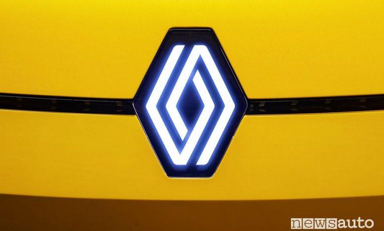 Nuovo logo Renault losanga