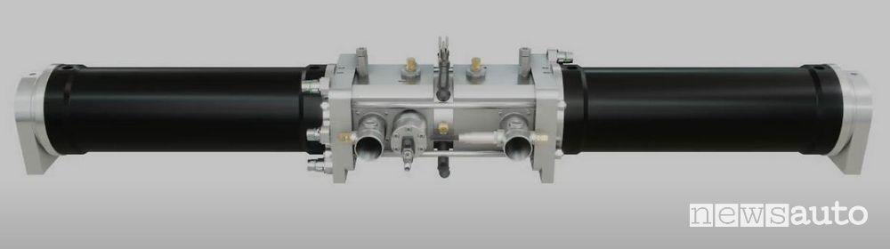 Singolo cilindro del range extender Libertine