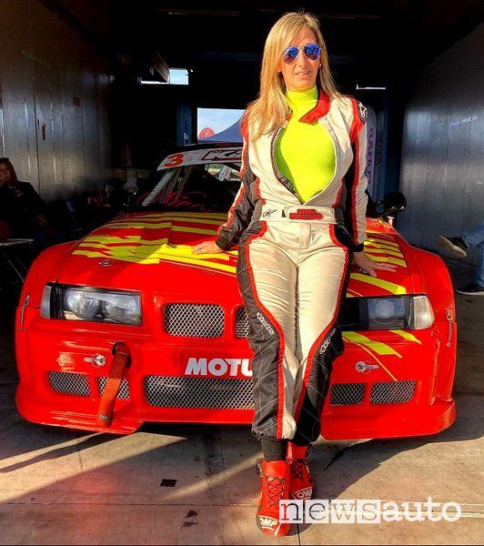 Nives Arvetti e la sua BMW M3 3.0