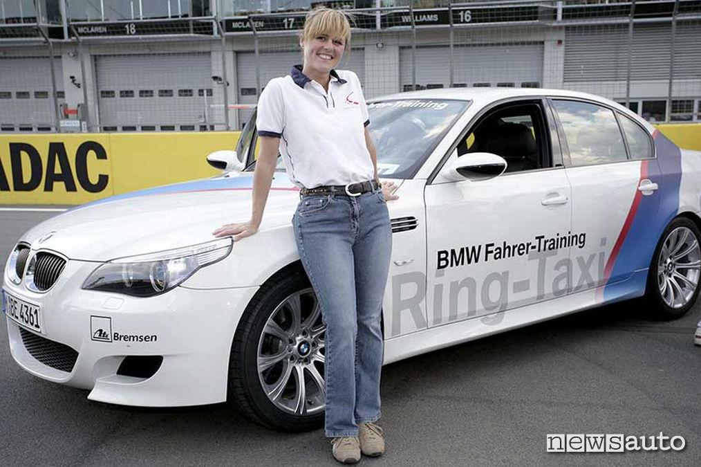 la BMW M5 Ring Taxi di Sabine Schmitz
