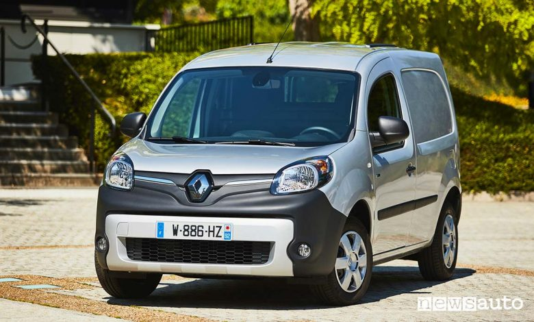 Renault Kangoo ZE frontale