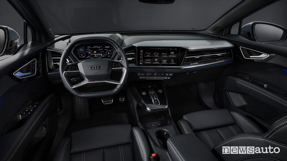 Plancia strumenti abitacolo Audi Q4 Sportback 50 e-tron quattro