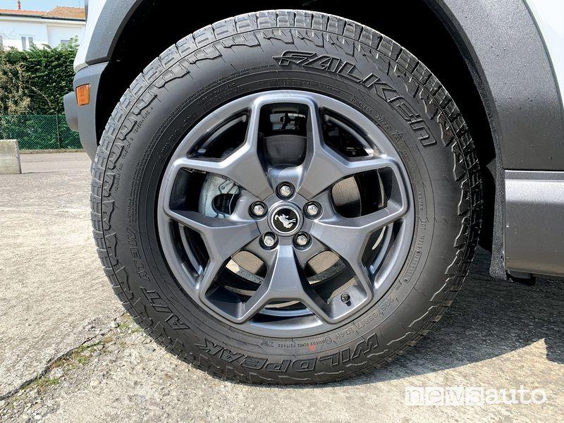 Cerchi in lega Ford Bronco Sport