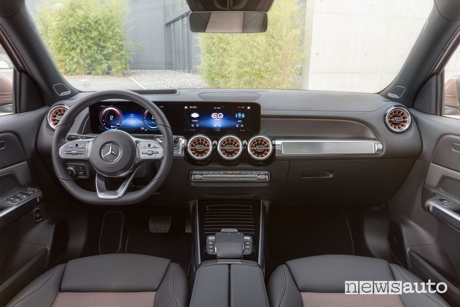 Plancia strumenti abitacolo Mercedes-EQ EQB elettrico