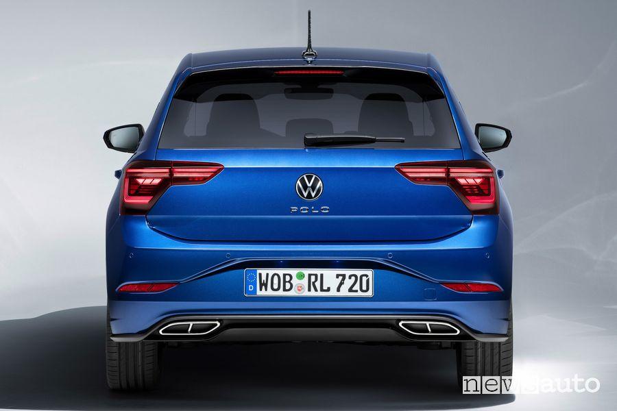 Posteriore nuova Volkswagen Polo R Line