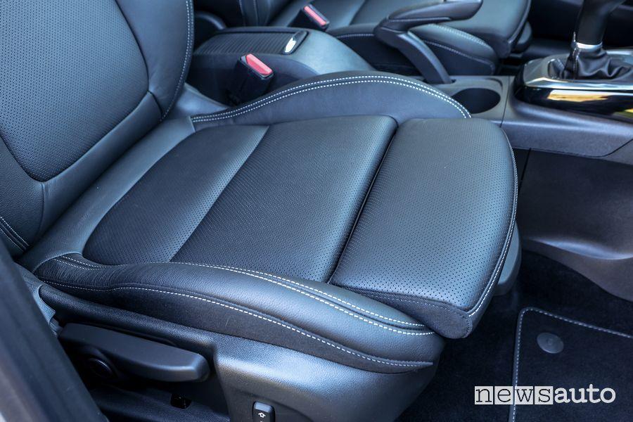 Seduta sedile anteriore abitacolo Opel Crossland