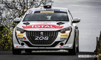 Rally Sanremo 2021, Peugeot prima nel Due Ruote Motrici