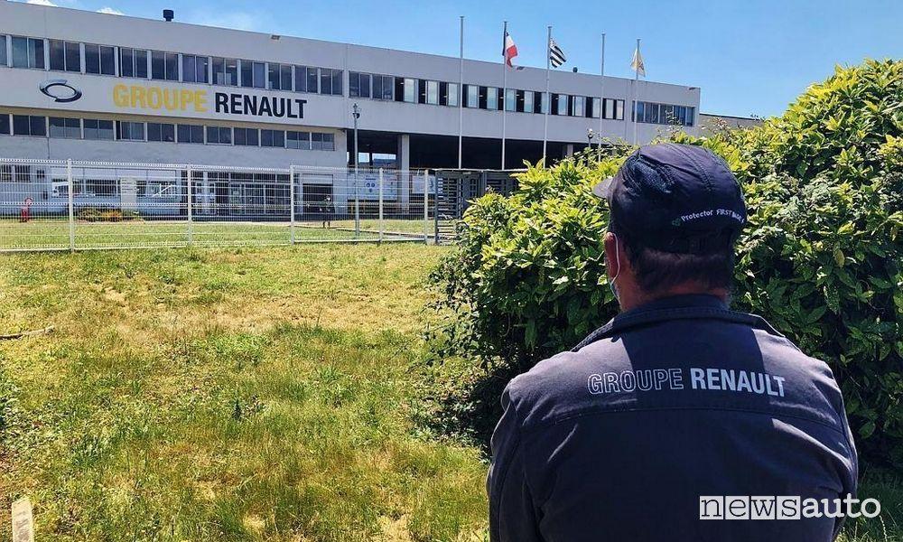 Protesta lavoratori Renault di Caudan, i motivi