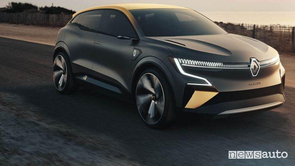 Renault Megane-E elettrica