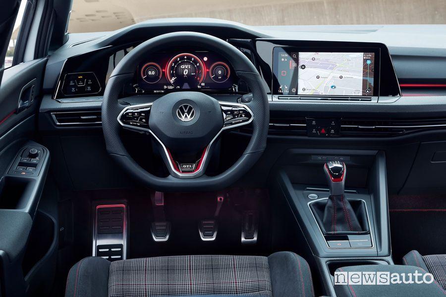 Plancia strumenti abitacolo Volkswagen Golf GTI cambio manuale