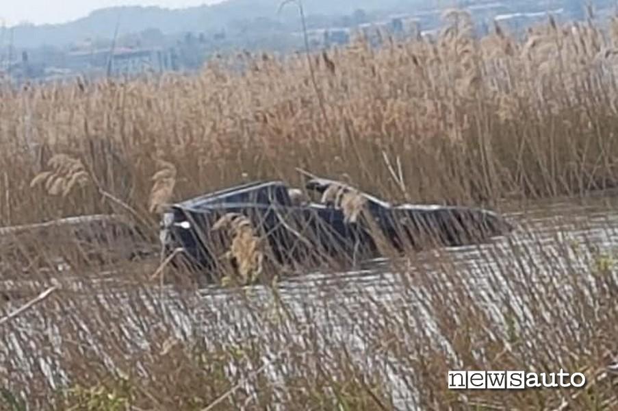 Incidente Ferrari 812 GTS Sirmione