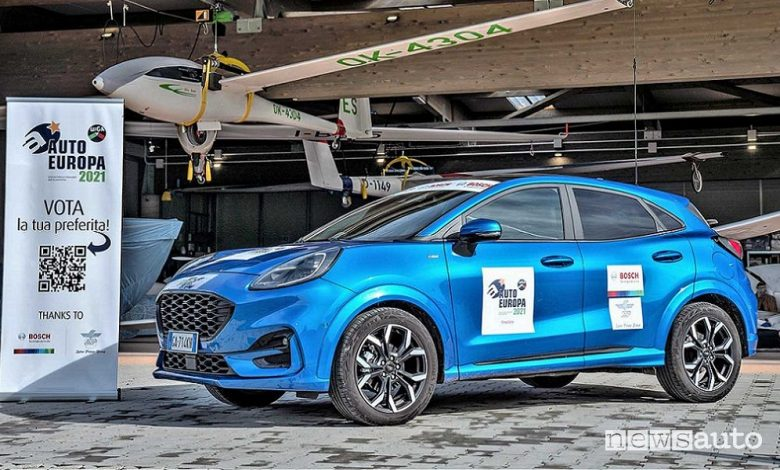 Ford Puma, premio Auto Europa 2021 Opinion Leader