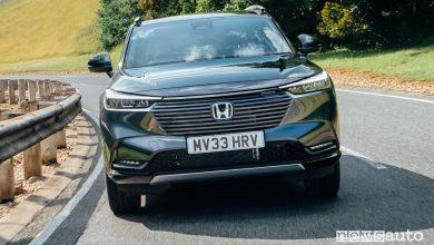 Nuovo Honda HR-V Hybrid e:EV, caratteristiche e prezzi