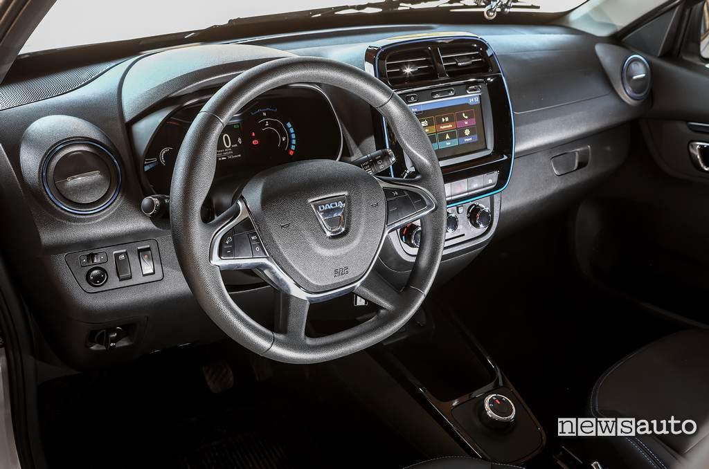 Interni Dacia Spring Electric 2021