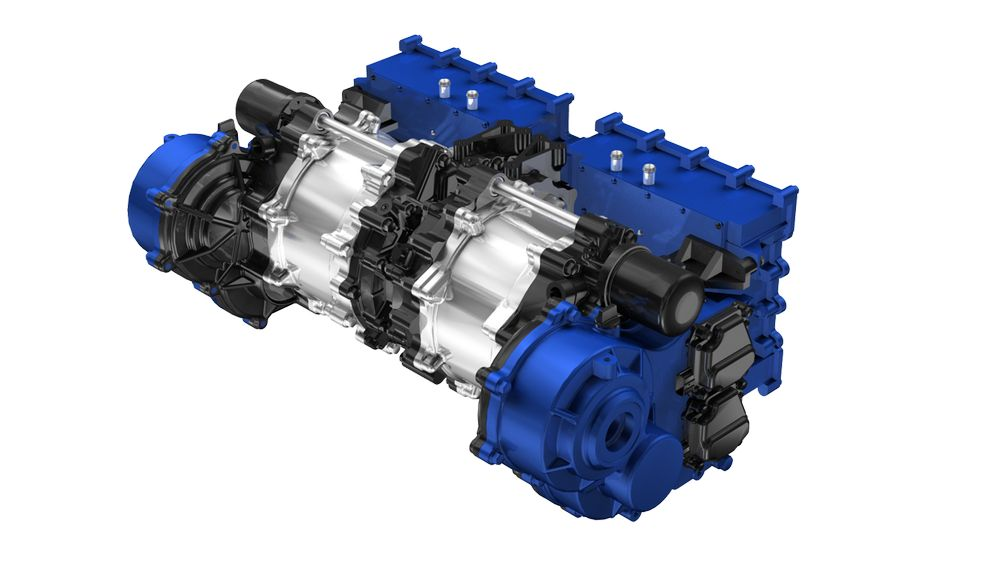 Motore elettrico Yamaha da 350 kW