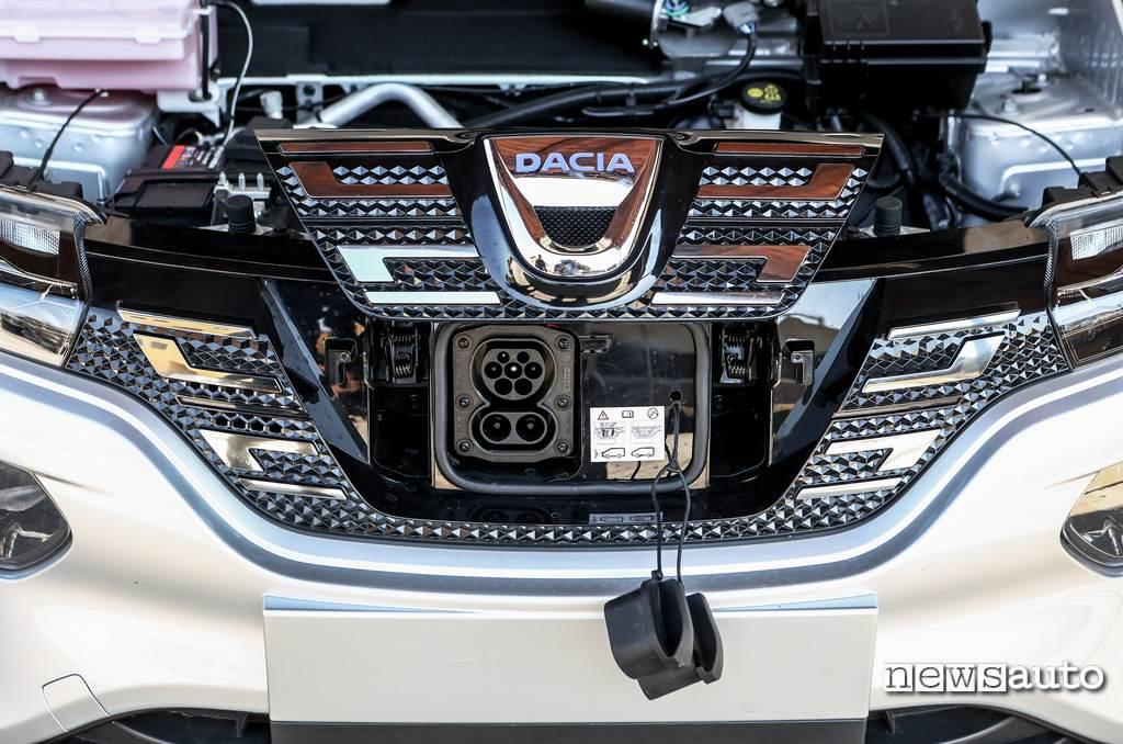 Presa ricarica CCS Combo Dacia Spring Electric 2021