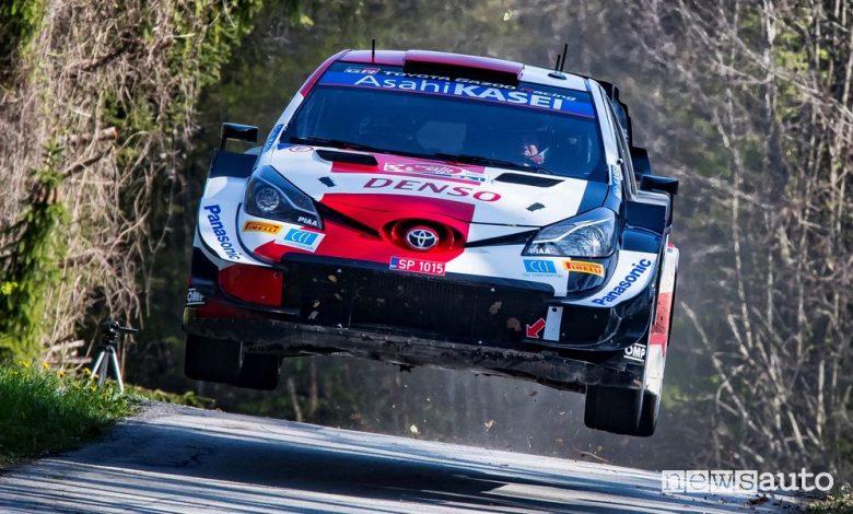 WRC Rally Croazia 2021, vince la Toyota con Ogier [classifica]