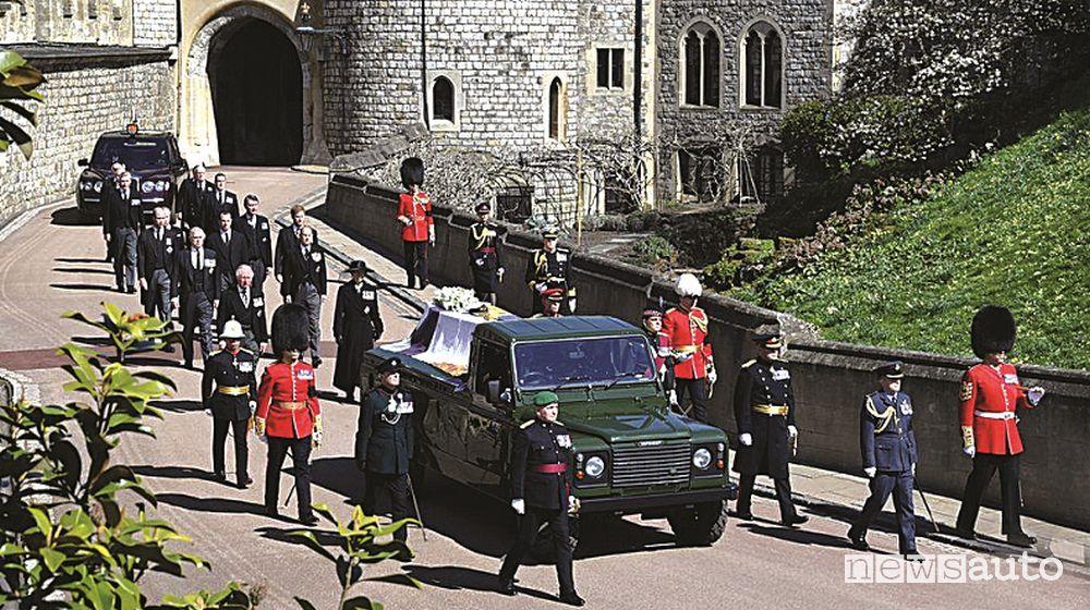 Corteo funebre Principe Filippo
