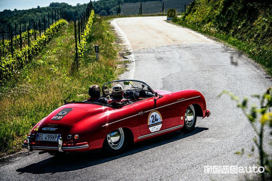 Porche 356 Speedster del 1955 Coppa Milano Sanremo 2021