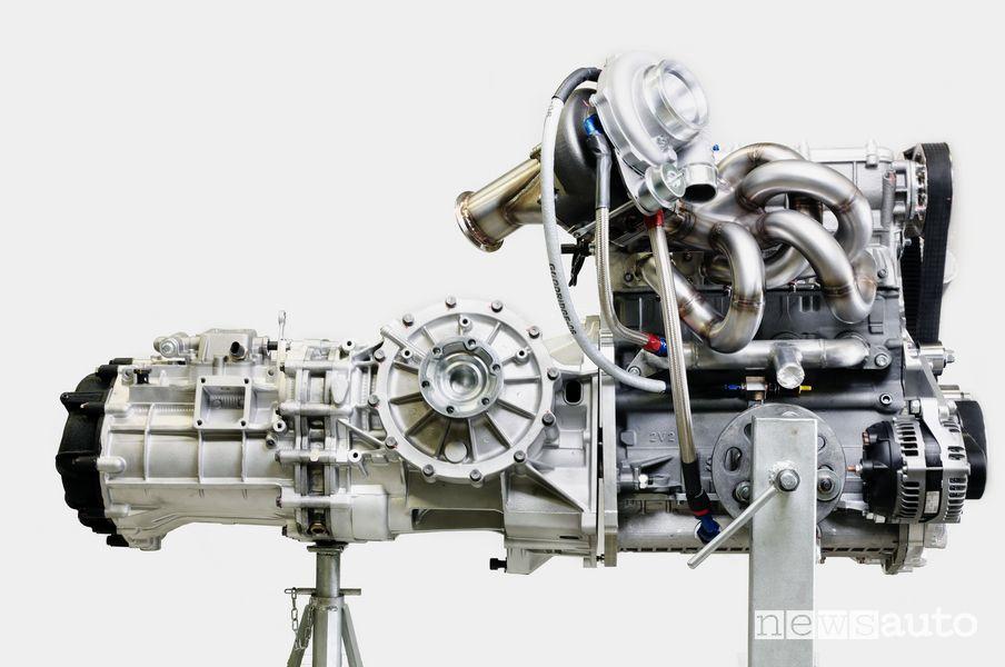 Motore e cambio Kimera EVO37