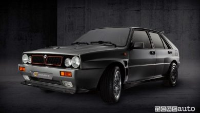 "Photo of Lancia Delta Integrale elettrica, la  Evo-e con ""restomod"""