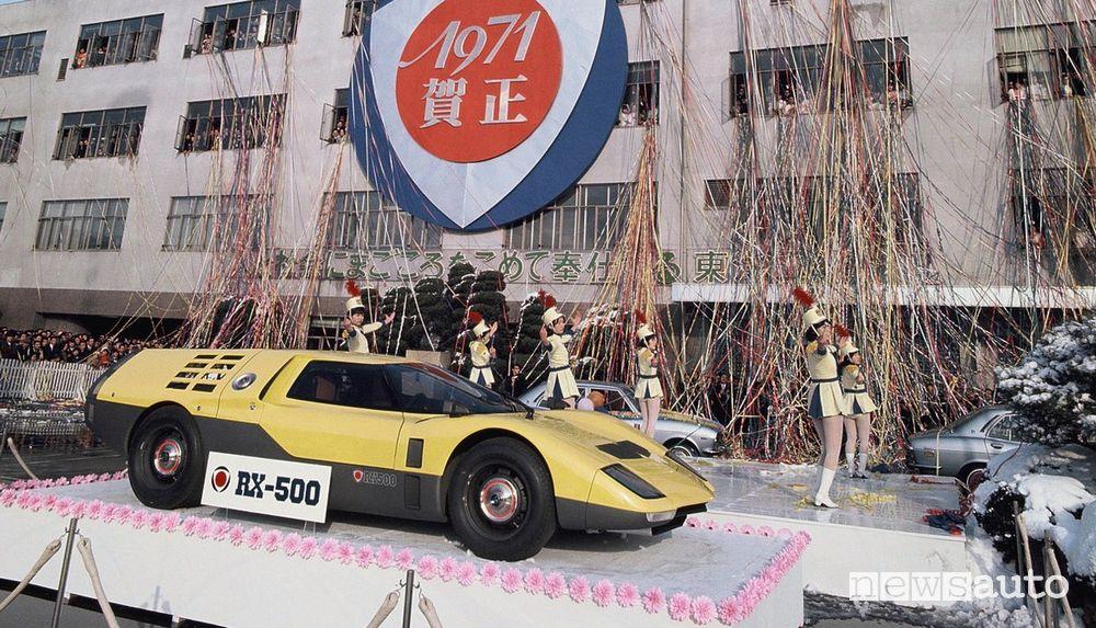 Mazda RX500 prototipo al Salone di Tokyo