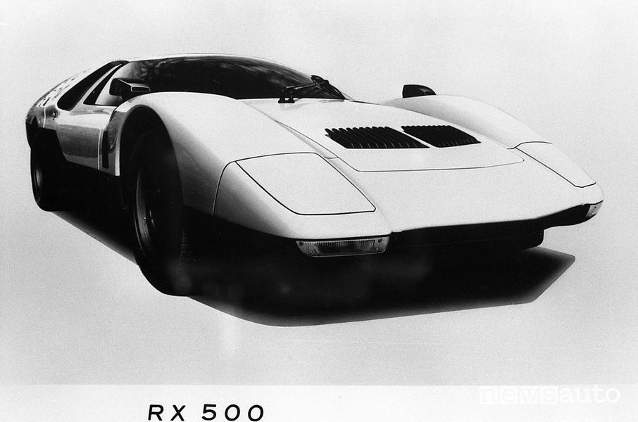 Manifesto Mazda RX500 prototipo