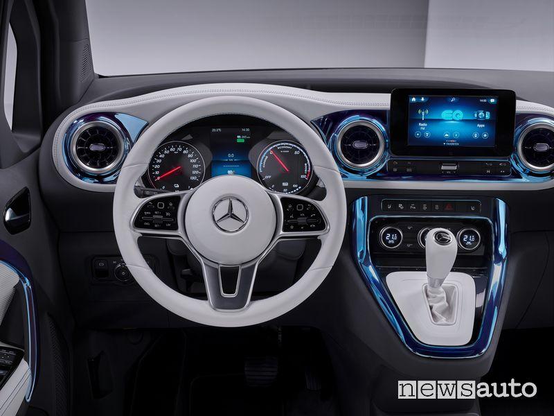 Volante abitacolo Mercedes-EQ Concept EQT