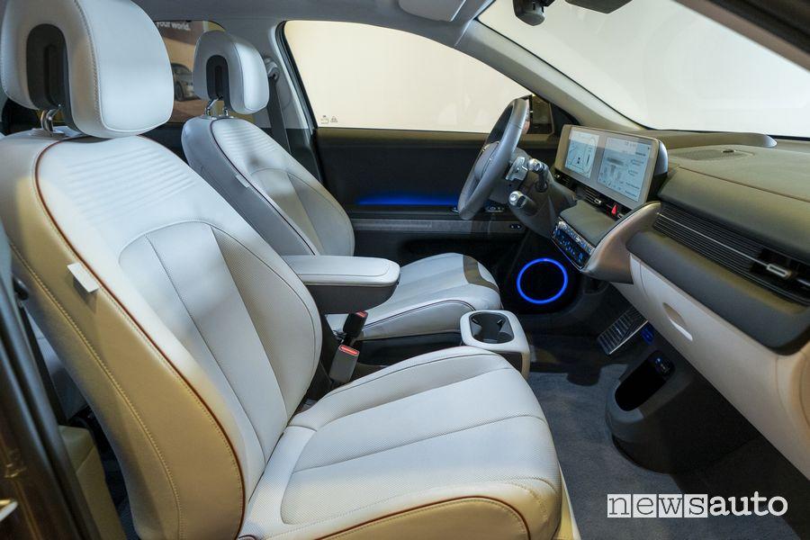 Abitacolo Hyundai Ioniq 5