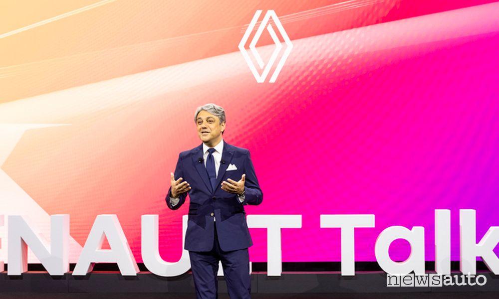 Luca de Meo, CEO del Gruppo Renault