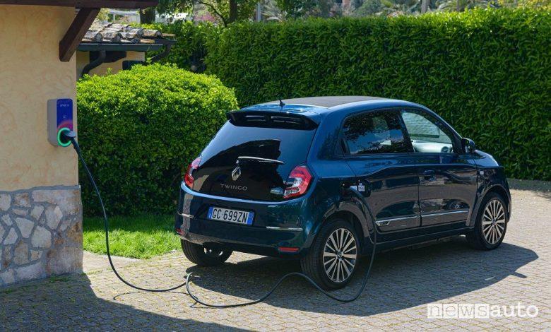 Ricarica auto elettrica a casa, con Renault E-charge Home