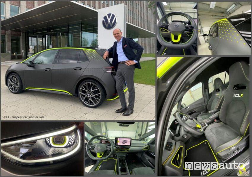 CEO Ralf Brandstätter Volkswagen ID.3 GTX concept