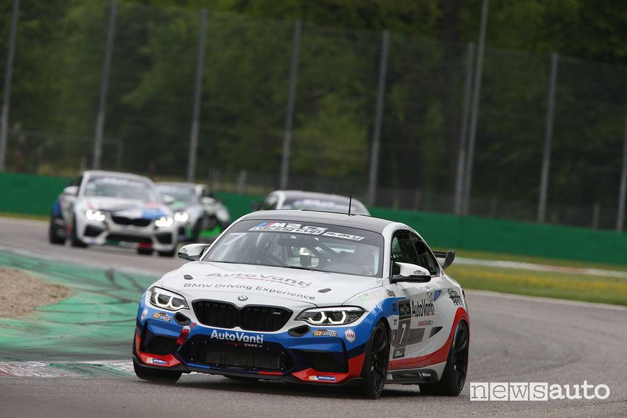 BMW M2 CS Racing Cup Italy in gara a Monza