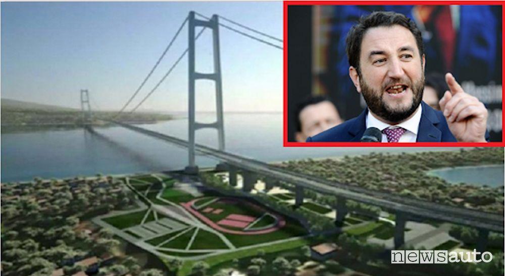 sottosegretario dei 5 Stelle al ministero dei Trasporti Giancarlo Cancelleri è favorevole al Ponte sullo Stretto