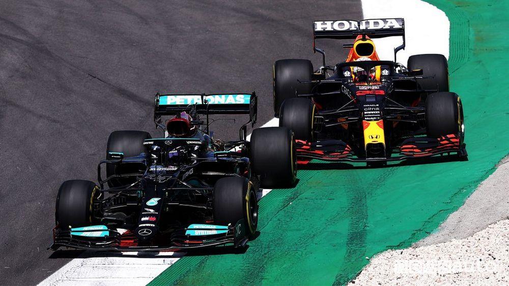 F1 Gp Portogallo 2021, la gara