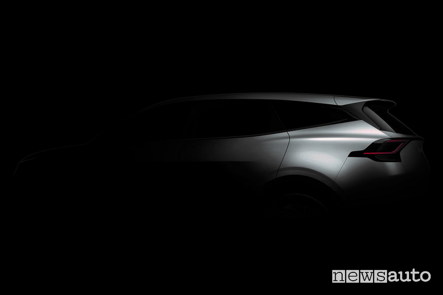 Teaser del nuovo Kia Sportage
