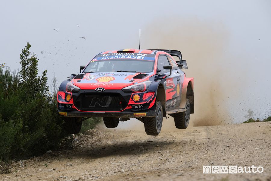 Rally del Portogallo 2021 Hyundai WRC