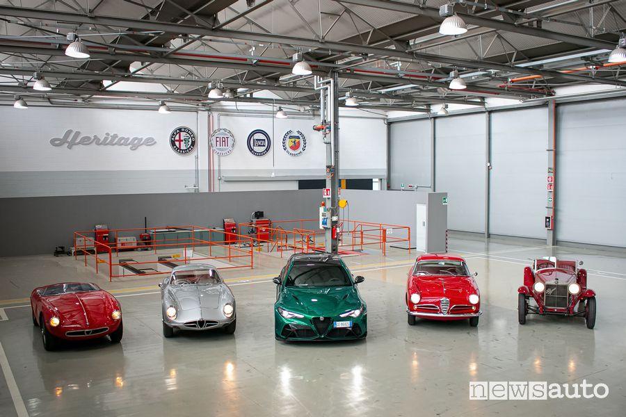 Al via della 1000 Miglia 2021 ci sono 121 auto storiche dei marchi Alfa Romeo, Fiat e Lancia