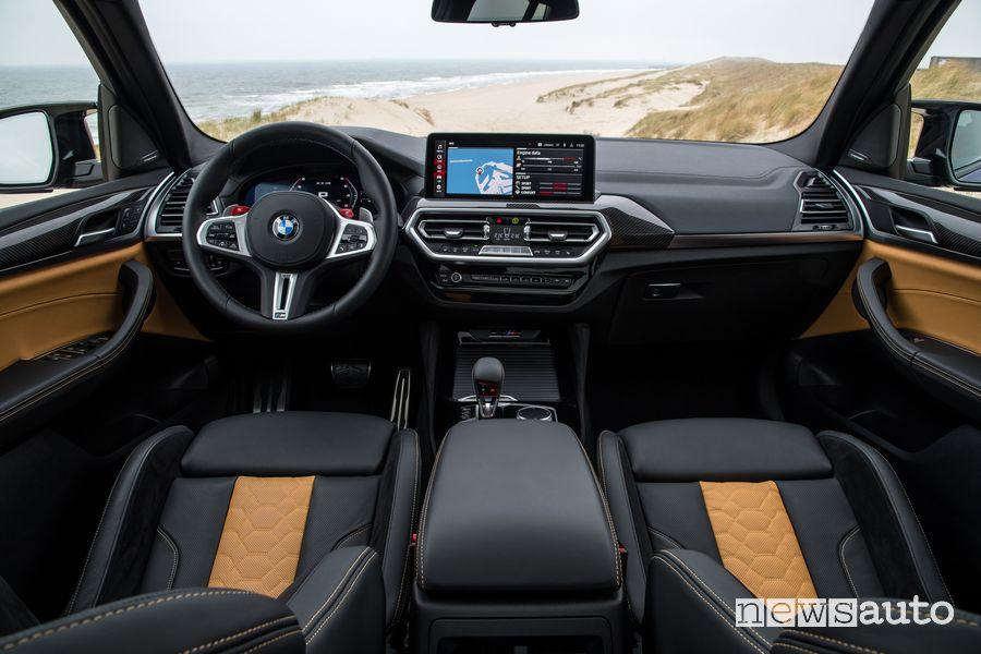 Plancia strumenti abitacolo BMW X3 Competition