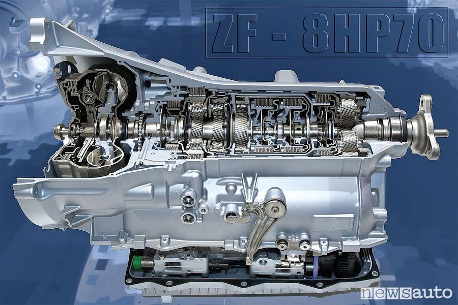 Cambio Automatico ZF - 8HP70