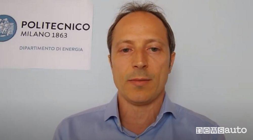 Prof. Davide Bonalumi, Docente di Sistemi Energetici al Politecnico di Milano