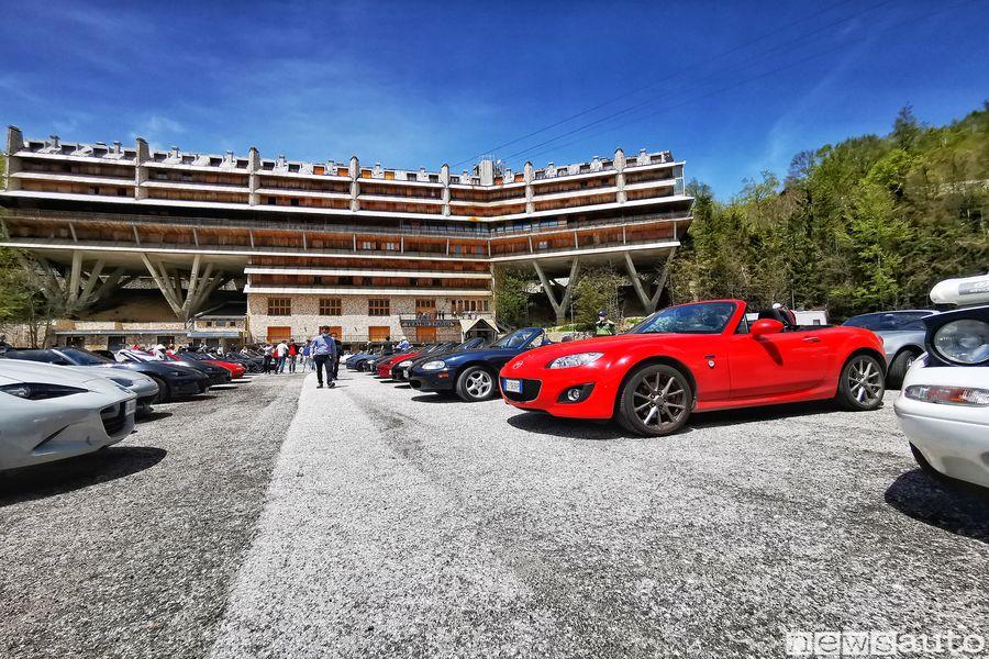 Raduno auto sportive Mazda MX-5 Back To Drive sul Monte Terminillo