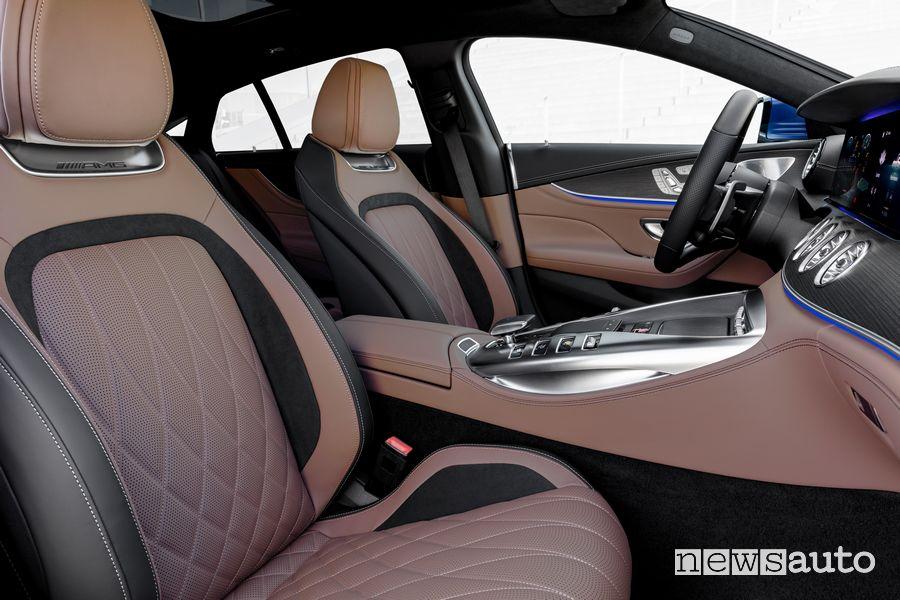 Sedili anteriori abitacolo Mercedes-AMG GT Coupé 53 4MATIC+