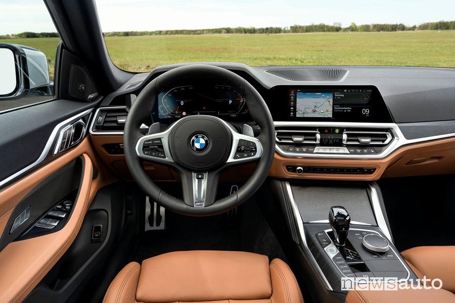 Plancia strumenti abitacolo BMW Serie 4 Gran Coupé 430i